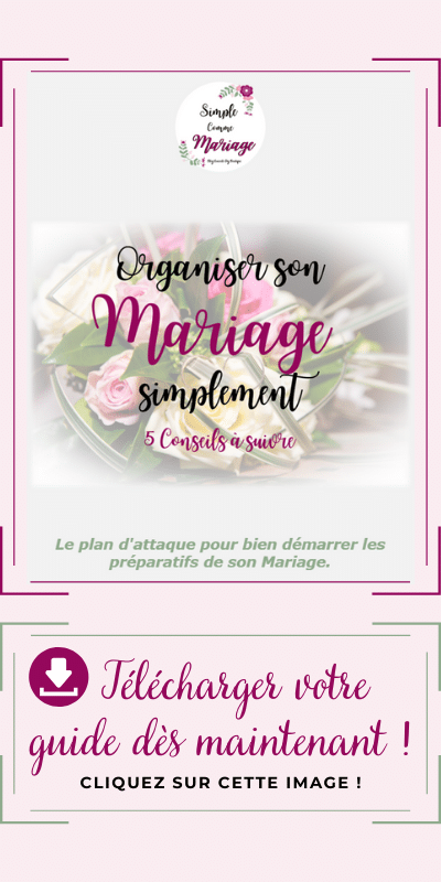 pop up ebook organiser son mariage